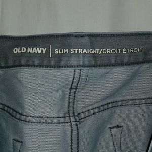 Old Navy Jeans - Old Navy Slim Straight Men's Jeans